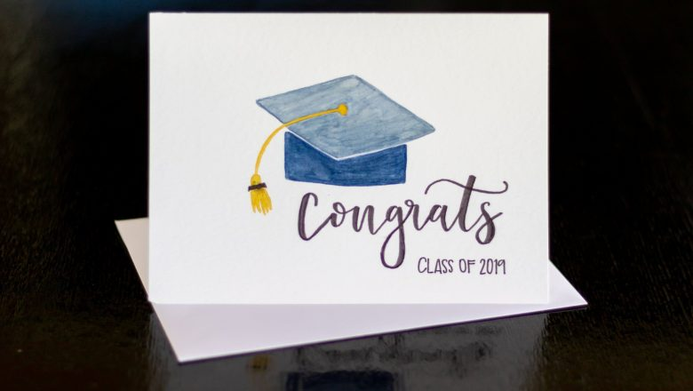 Celebrate Achievement Using a Custom Graduation Card