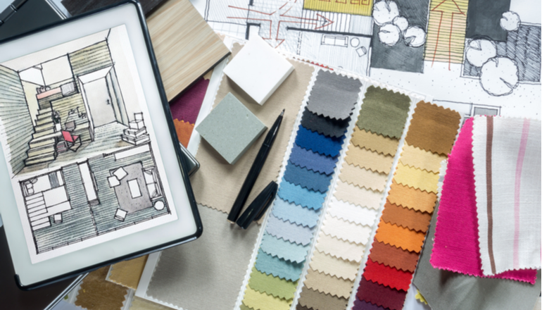 Psychological Research Of Colours For Interior Design